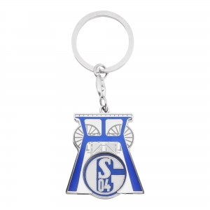 FC Schalke 04 - S04 Keychain colliery with shopping chip