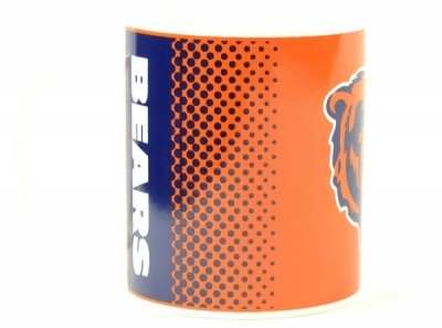 Chicago Bears NFL Fade Design Boxed Coffee / Tea Mug