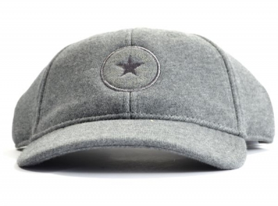 Converse Charcoal Woolly Afflex 308 Womens Fleece Strap Back Cap