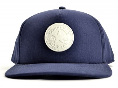 Converse Core Rubber Patch Strap Back Cap Navy Blue