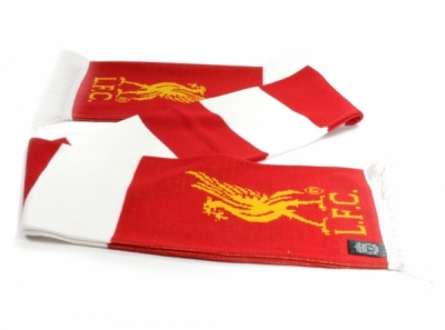 FC Liverpool Bar Scarf Red White