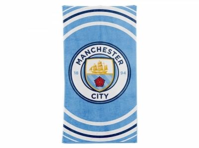Manchester City Pulse design towel