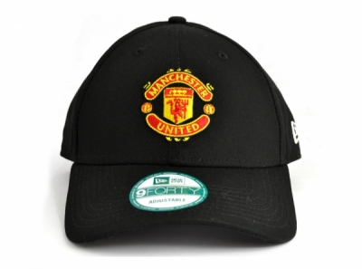 Manchester United New Era 9Forty Black Baseball Cap