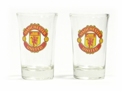 Manchester United Shot Glasses 2 Pack