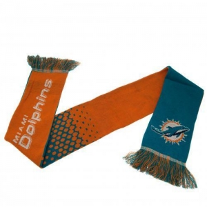 Miami Dolphins NFL Fade Design Scarf