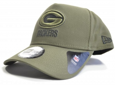 Green Bay Packers Green A frame 9forty Snapback Cap