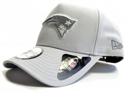 New England Patriots Gray A frame 9Forty Snapback Cap