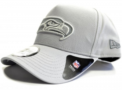 Seattle Seahawks Gray A frame 9forty Snapback Cap