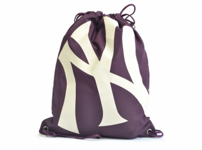 New York Yankees Gym Bag Burgundy