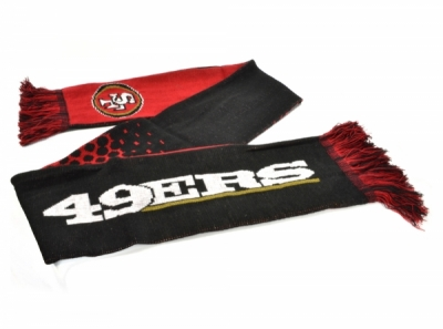 San Francisco 49ers NFL Word Mark Scarf