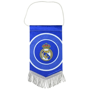 Real Madrid Bullseye Mini Pennant