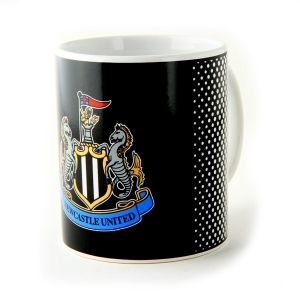 Newcastle United Boxed Mug Fade Design