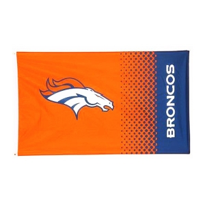 Denver Broncos Fade Flag