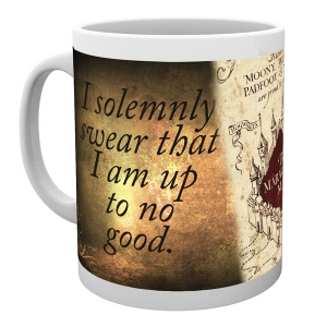 Harry Potter Ceramic Mug - Marauders Map