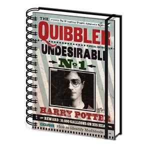 Harry Potter Note Book - Quibbler A5