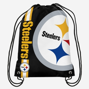Pittsburgh Steelers Big Logo Gym Bag