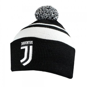 Juventus Turin Text Cuff Knitted Hat