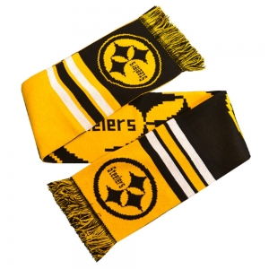Pittsburgh Steelers Patriots Big Logo Scarf