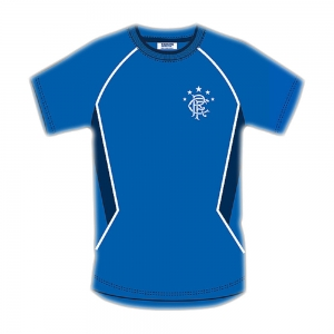 Glasgow Rangers Blue Panel Mens T-Shirt