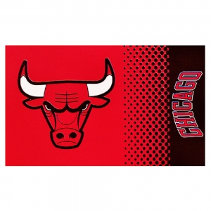 Chicago Bulls Fade Design flag 152 x 91 cm
