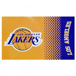 LA Lakers flag Fade Design 152 x 91 cm