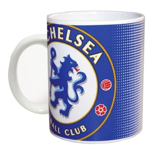 FC Chelsea London Halftone 11oz Mug
