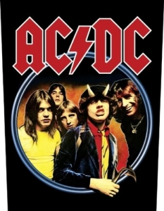 Backpatch - AC/DC - Highway To Hell