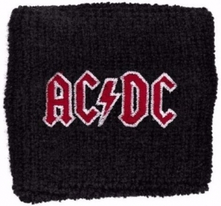 Merchandise Wristband - AC / DC - Red Logo