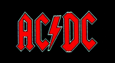 Patch - Ac/Dc Red Logo