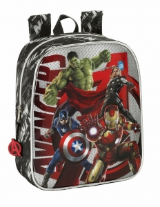 Backpack Avengers Heroes Thor Hulk Iron Man, 27x22x10cm