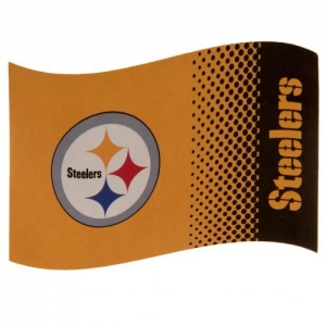 Pittsburgh Steelers FD Flag 152x91 cm (5ft x 3ft)