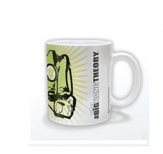 The Big Bang Theory Fist offiziell Boxed Mug