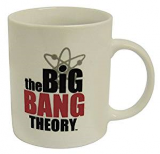 The Big Bang Theory Logo offiziell Boxed Mug