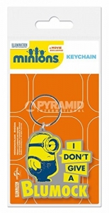 Minions rubber key holder Blumock 6 cm