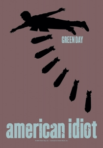 Poster Flag - Green Day Bomb