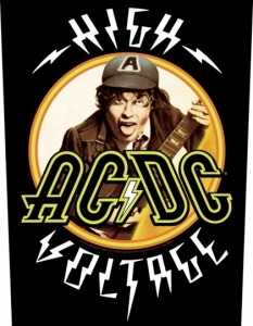 AC / DC - High Voltage - Backpatches