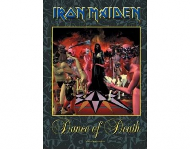 Poster Flag - Iron Maiden Dance of Death