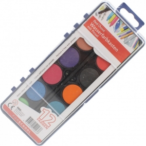 Water color box 12 XL colors and brush
