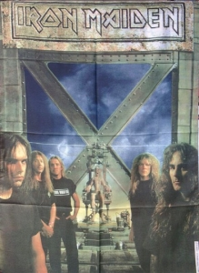 Poster Flag - Iron Maiden