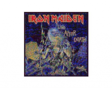 Patch - Iron Maiden - Live After Death