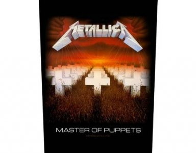 Backpatch - Metallica - Master Of Puppets