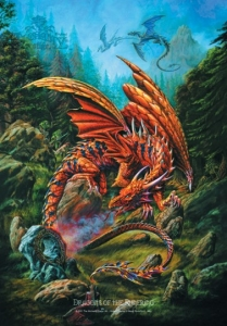 Poster Flag - Alchemy Dragons of...