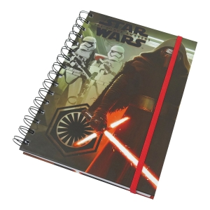 Star Wars Episode 7 Kylo REN & Stormtroups Notizbuch, A5