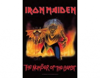 Poster Flag - Iron Maiden The Number of the Beast
