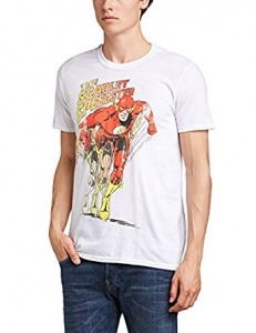 Men's T-Shirt The Flash - Scarlet Speedster