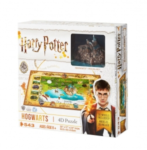 Harry Potter 4D Mini Puzzle Hogwarts (500 pieces)