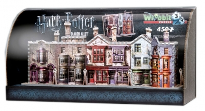 Harry Potter built-up demo 3D puzzle with display case