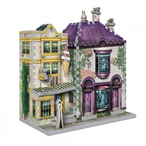 Harry Potter 3D Puzzle DAC Madam Malkins Suits For All Occasions & Florean Fortescue Ice Cream Parlor