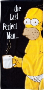 The Simpsons - The Last Perfect Man towel 75 x 150 cm